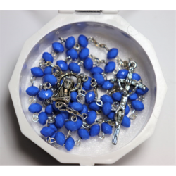 Вервиця Ave Maria (синя)